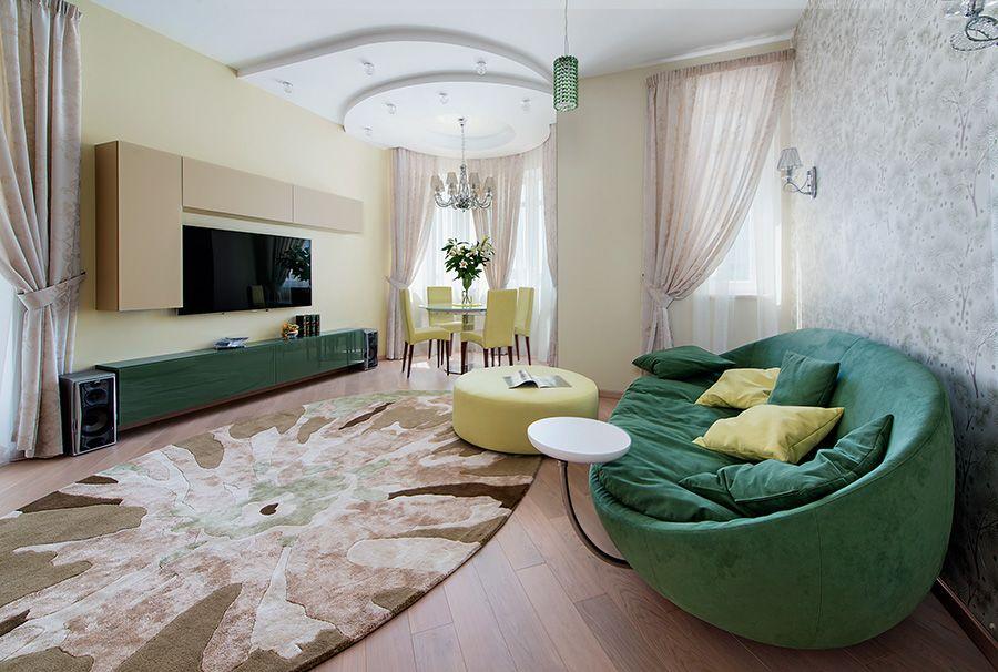 Дизайн комнаты неправильной формы: Как исправить